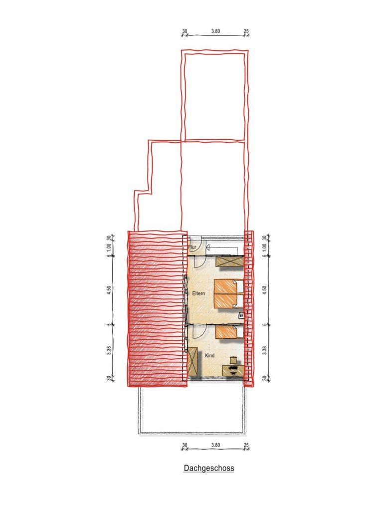 Engelsholt Dachgeschoss Grundriss